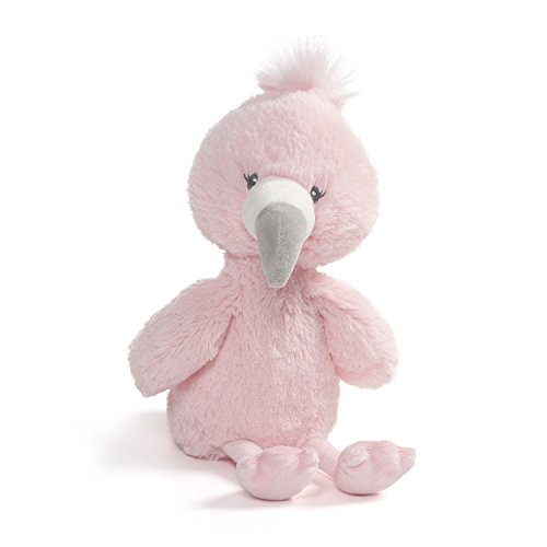 Baby GUND Toothpick Flamingo Plush Stuffed Animal 12