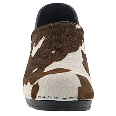 Bjork Professional Safari Collection Leather Clogs in Brown Cow | Mules & Clogs