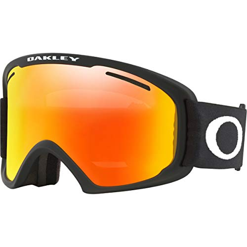 19f8c2f876 Oakley O-Frame 2.0 XM Adult Snowmobile Goggles - Matte Black Fire Iridium  Medium