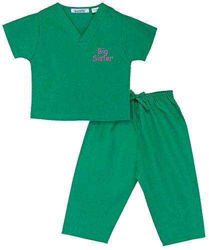 Girls Little Costumes Nurse (Scoots Little Girls'