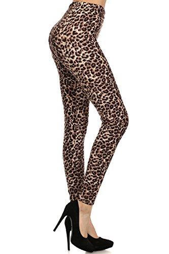 Leopard Print Leggings - 4