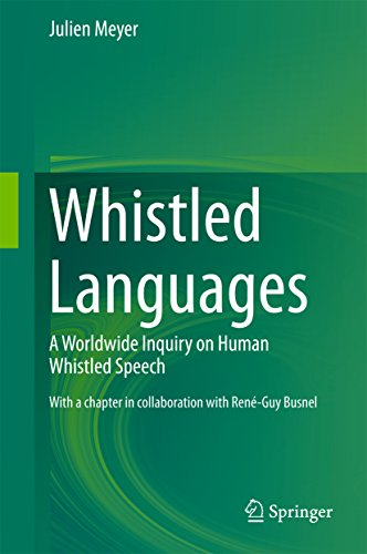Whistled Languages: A Worldwide Inquiry on Human Whistled Speech Pdf