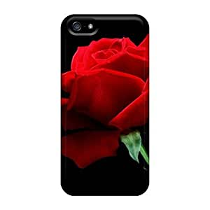 Hot WrhLOji3813AKuSn Protector Case For Iphone 4/4S Cover Red Rose