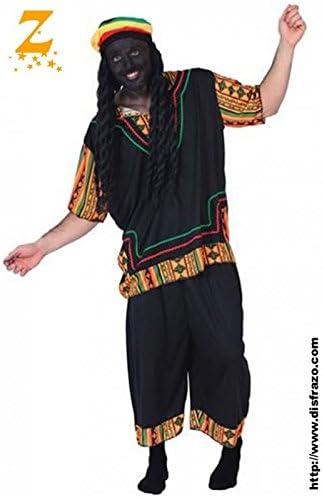 Fyasa 705897-t04 disfraz de Rasta, Large: Amazon.es: Juguetes y juegos