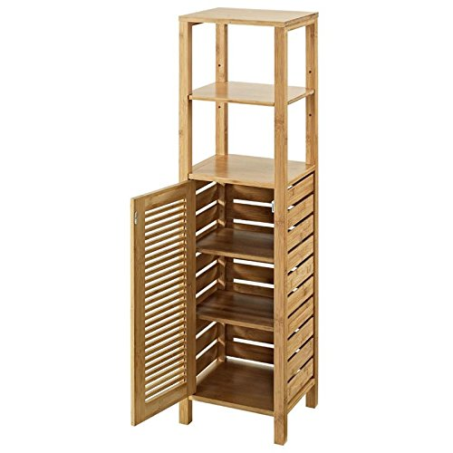 Riverbay Furniture Linen Tower in Natural