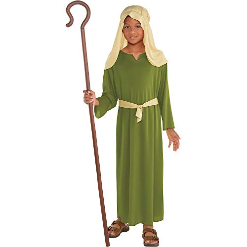 amscan Boys Green Shepherd Costume - Small (4-6) ()