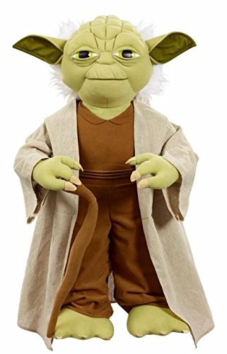 (Underground Toys Star Wars Life Sized Yoda Toy )