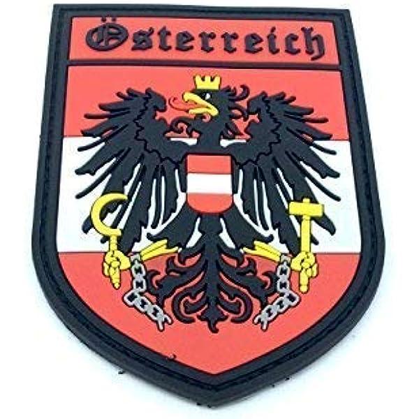 Austria Escudo Österreich Crest Airsoft PVC Parche: Amazon.es: Deportes y aire libre