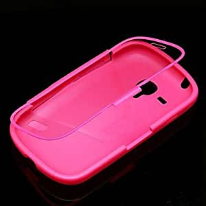 LIMME ships in 48 hours LIMMEid Color Full Body Case for Samsung Galaxy S3 Mini I8190 (Assorted Color) , Black