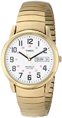 Timex Easy Reader Day-Date Expansion Band Watch