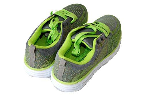 amara-global WoMen Low-Top Sneakers Green-grey