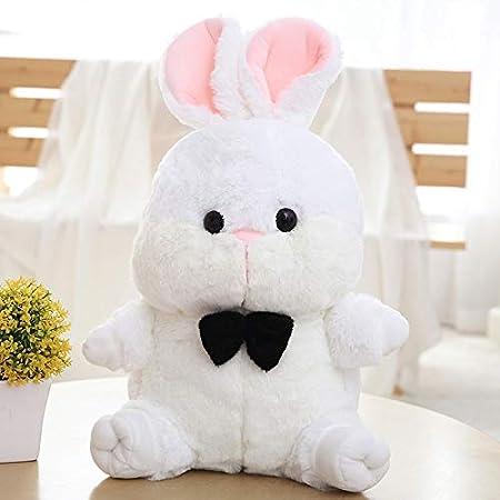 10 Vintage Weiß Ostern Baby Kaninchen Plüschtier Plüsch