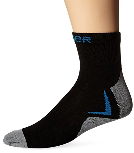 Bauer NG Core Skate Low Performance Socks, Black, X-Small