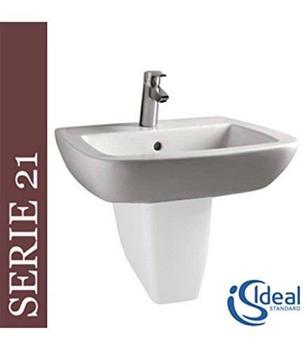 Lavabo Europa.Ideal Standard Lavabo Sospeso Serie21 T0013 Cm 55x52 Bianco