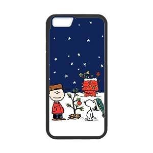 Cute Lovely Snoopy Cartoon Series Custom Phone Cover Case For iPhone 6 Plus 5.5 TT11