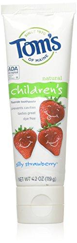 Toothpaste-Children's w/Fluoride-Strawberry Tom's Of Maine 4.2 oz -