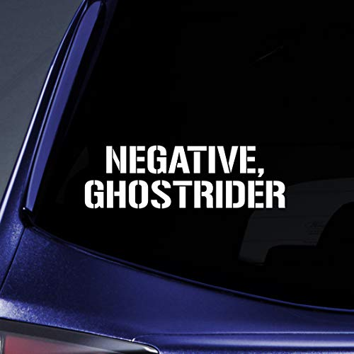 Bargain Max Decals Negative Ghostrider Sticker Decal Notebook Car Laptop 5.5