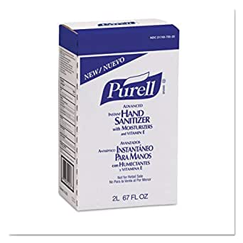 Amazon Com Purell Advanced Hand Sanitizer Gel With Moisturizers