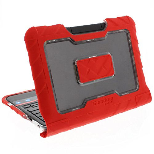 Gumdrop Cases Droptech Case for Lenovo N22 and N21 Chromebook 80MG 80SF 80VH Rugged Shock Absorbing Cover, Red by Gumdrop Cases