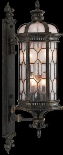 Fine Art Lamps Bronze Table Lamp (Fine Art Lamps 413981, Devonshire Outdoor Wall Sconce Lighting, 240 Total Watts, Bronze)
