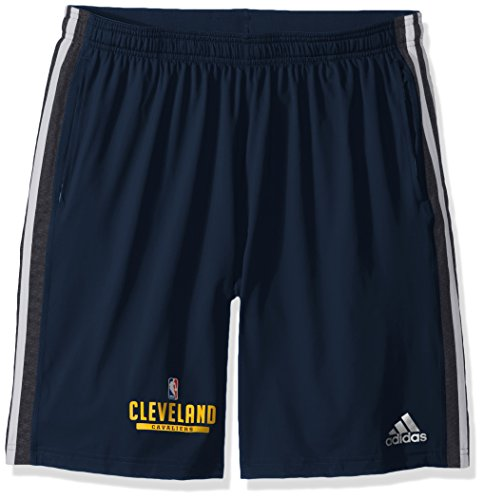 NBA Cleveland Cavaliers Adult Men Enough Said Team Issue Short, Medium, Navy Adidas Nba Performance Short
