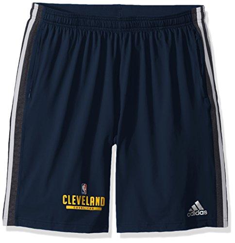 Adidas Shorts Cavaliers Cleveland - NBA Cleveland Cavaliers Adult Men Enough Said Team Issue Short, Medium, Navy