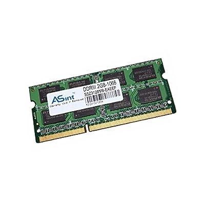 2GB RAM PC portátil ASint ssz3128m8-eaeef SODIMM DDR3PC3–8500S 1066mhz 200-pin