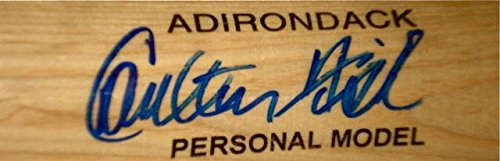 (Carlton Fisk Autographed Bat (red Sox) W/Proof! - Autographed MLB Bats )