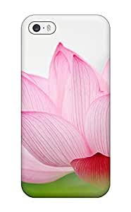Cute Appearance Cover/tpu VUZhrmx3342qEPeC Floating Pink Flower Case For Iphone 5/5s