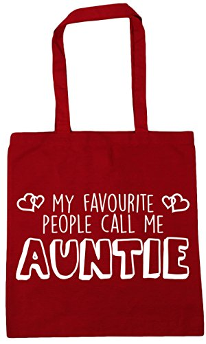 Shopping My People Classic 42cm x38cm HippoWarehouse Gym Me Call 10 Red Auntie Beach Favourite litres Bag Tote pdqqwS0