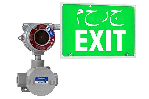 Explosion Proof Exit Signs - Explosion Proof Exit Sign - Class I Division 1 & 2 - IP65-4