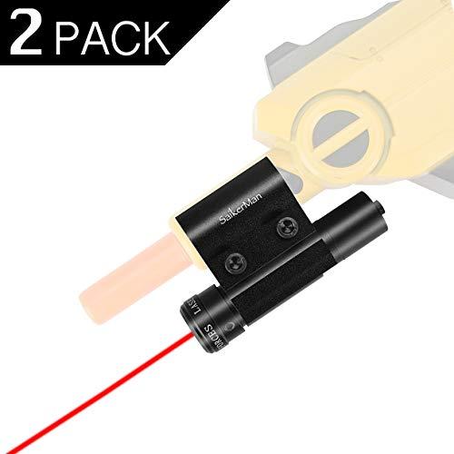 SaikerMan Laser Sight for Bug A Salt Fly Gun 2 Pack, Aiming Scope Class IIIA Pointer Beam Accessories for Bug A Salt Gun Lawn & Garden Eradication 2.0 Shotgun Spray Guns All Versions by SaikerMan