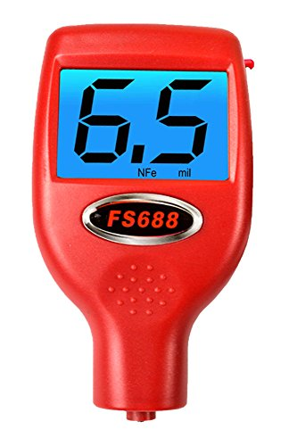 FenderSplendor FS688 Paint Meter / Gauge. 15,000 Meters Sold to Date, Sold and Warrantied in the USA with 3 Year Exchange Warranty. Avoid $3000 Losses When You Miss - Warranty Exchange