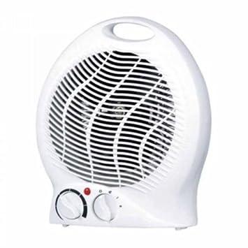 Takestop® - Calefactor, calentador, estufa eléctrica para baño, aire caliente, 2000 W, portátil: Amazon.es: Electrónica