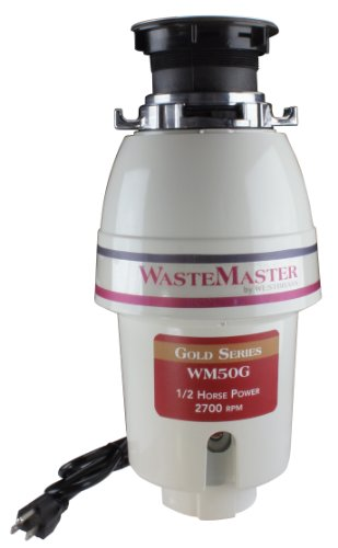- WasteMaster WM50G 1/2 HP Gold Series Continuous Speed Waste Disposer