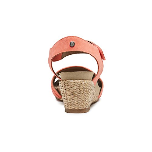 Cassale Puppies Eivee CORAL Fashion Sandals Pink Hush NUBUCK Women RtxdqHwwnp