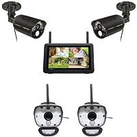Uniden Guardian UDR777HD + 2 ULC58 Spotlight Cameras