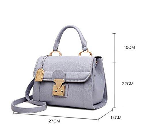 Grey Sacchetto Delle Borsa Versione Del Borse Nuove Spalla Eleganti Moda Coreana Di Alla Modo OnxfqWgpSw