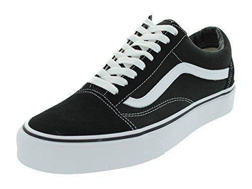 Vans Unisex Old Skool Black/White Skate Shoe 9 Men US / 10.5 Women US