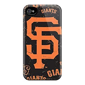 Scratch Resistant Hard Phone Cases For Iphone 6 (gcw62IgZz) Custom Vivid San Francisco Giants Skin