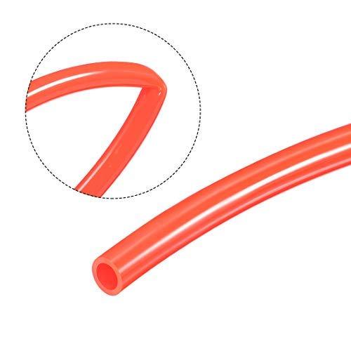 3//8 inch polyurethane air compressor tube hose tube red pneumatic air tube 6 m // 20 ft outer diameter