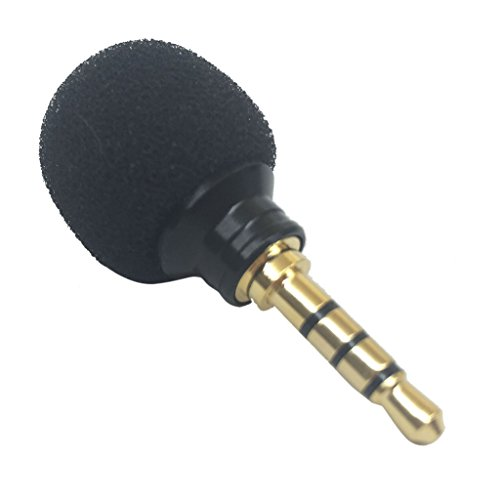 - MagiDeal 3.5mm Mini Stereo Microphone Mic -Mobile Phone Laptop Recording Small