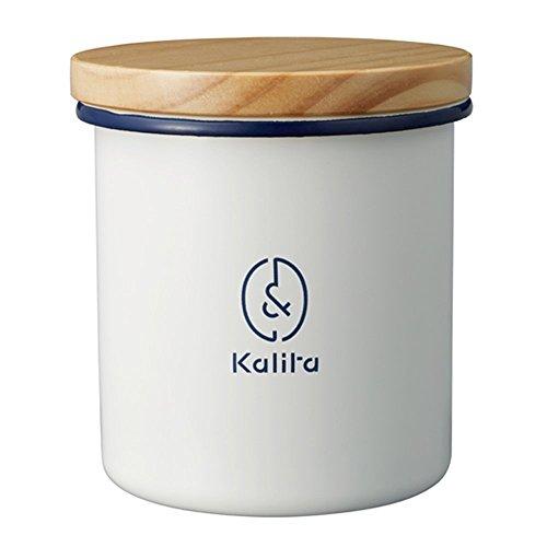 칼리타(Kalita) 용기 법랑 커피 원두 보관 캐니스터 약 250g & 카리타 원형 # 44251 / 각형 # 44252
