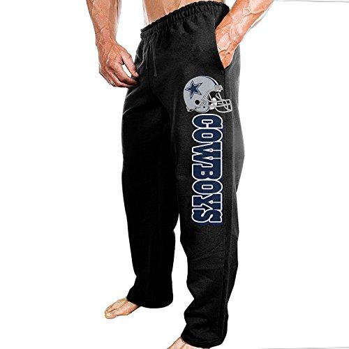 SSDDFF Mens Dallas American Football Team Cowboys Soft Leisure Sweatpants Leisure Wear Size 3X (Dallas Cowboys Shorts)