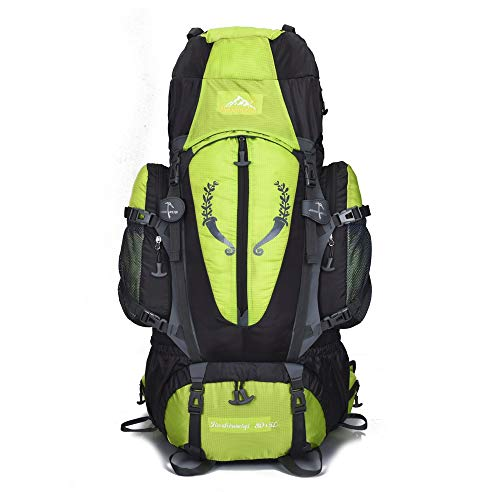YINUO Backpack 80L Outdoor Sharp Outdoor Mountaineering Bag Encryption...
