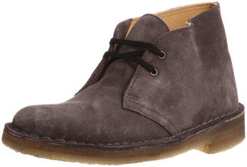 Clarks Desert Boot 203519003 Damen Desert Boots Grau (Grey Suede)