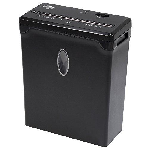 Protek PX100B 10-Sheet Crosscut Paper Shredder, Black