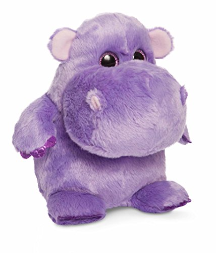 (Aurora World Hunk of Love Hippo Plush, Purple, Small)