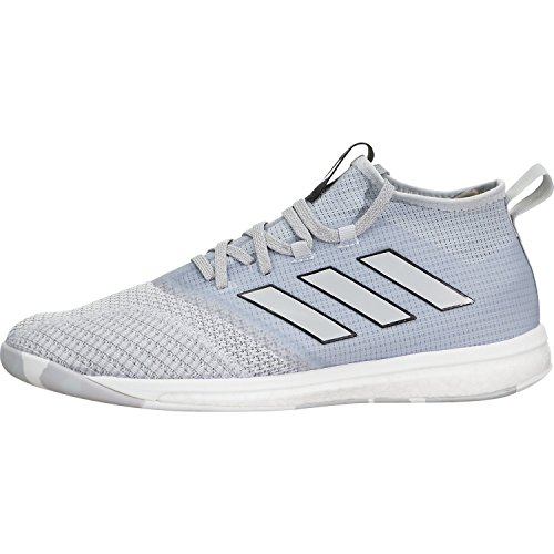 adidas Men's Ace Tango 17.1 Trainer Soccer Shoe, 11.0 D(M) US, Clear Grey/Mid Grey