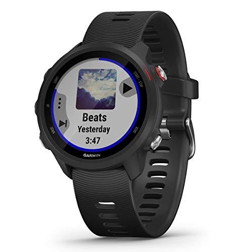 Garmin Multisporthorloge Forerunner 245 Music GPS zwart/rood